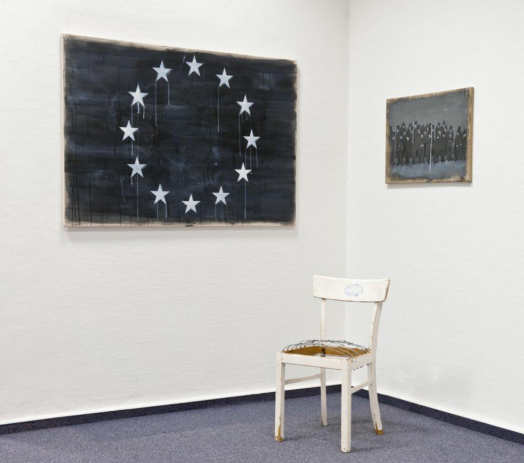 Borderlines#4 (European Chair), Maße variabel, 2013