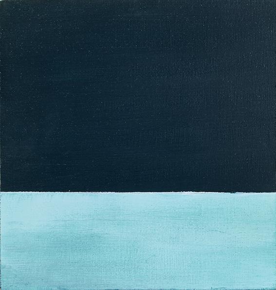 Preußischblau mit Phtalogrün Serie#1
